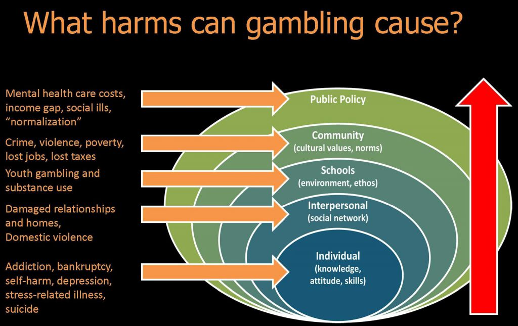 What Harms Can Gambing Cause
