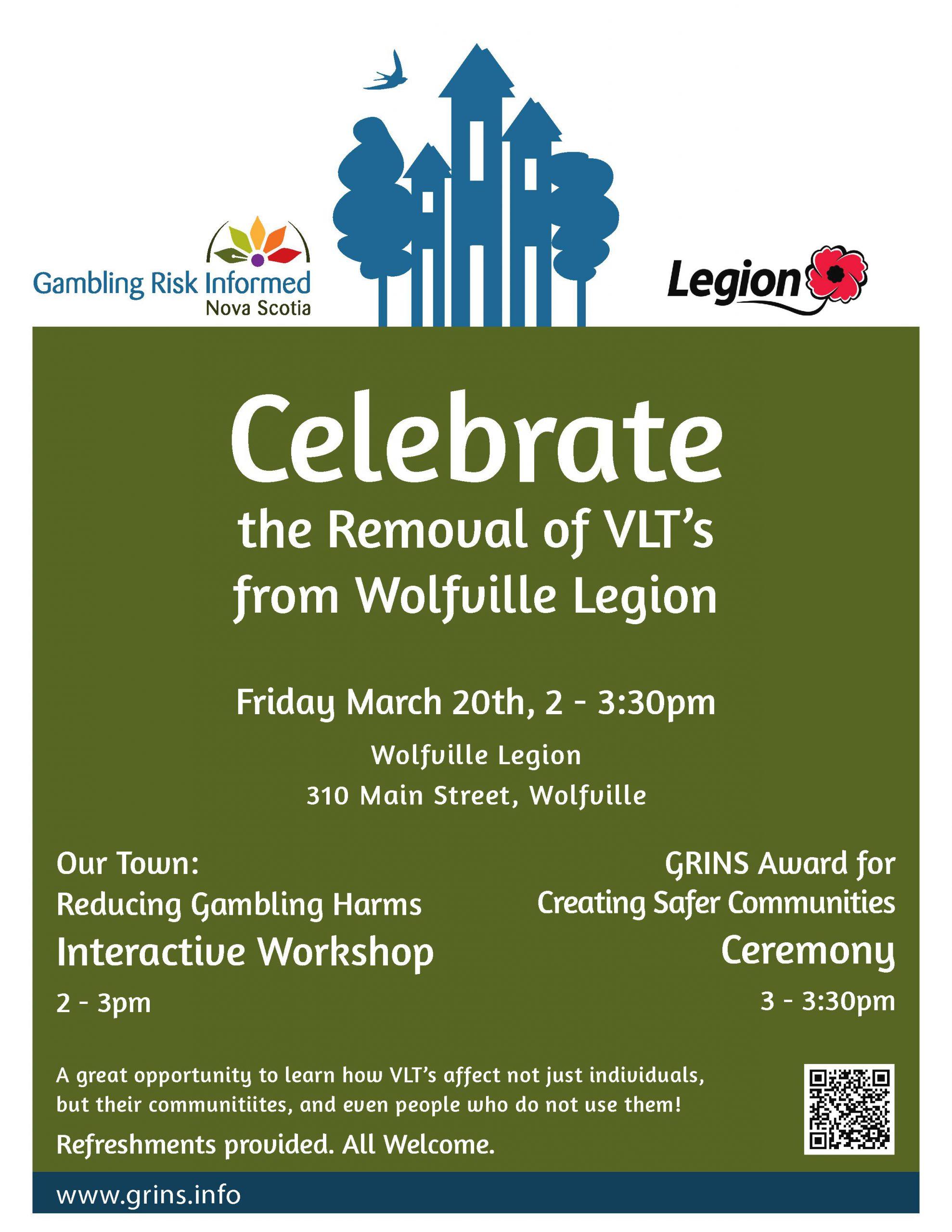 GRINS Legion Award Poster